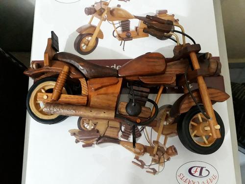 moto de madeira honda harley indian yamahabrinquedo promoção
