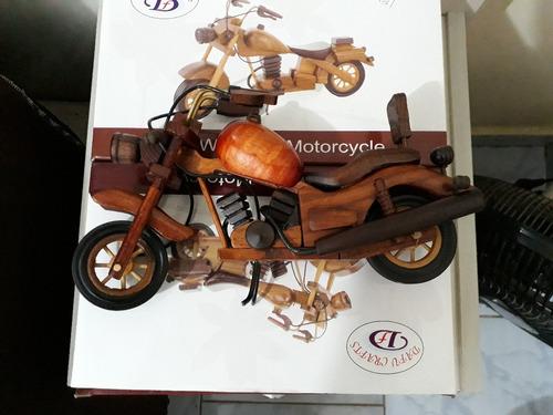 moto de madeira indian honda harley yamahabrinquedo promoção