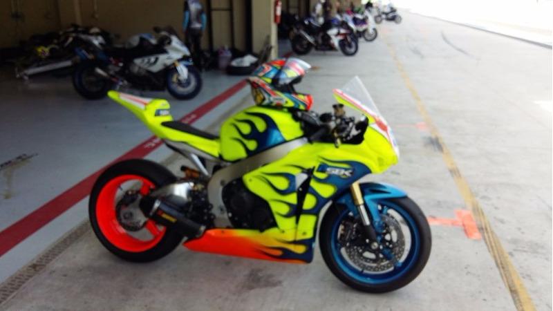 moto de pista autodromo