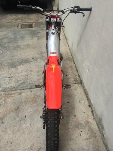 moto de trial marca gas gas
