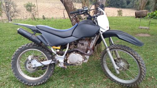 moto de trilha 200cc motor honda freios a disco part. elétri