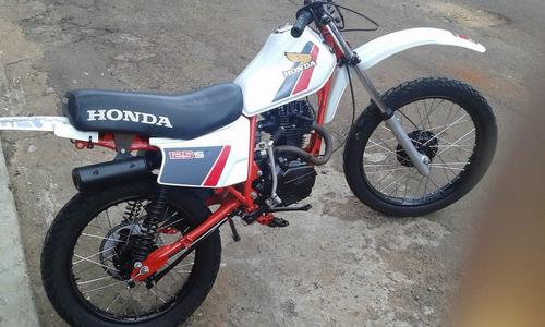 moto de trilha honda xl 125.restaurada inteira