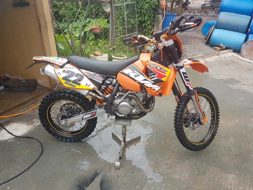 moto de trilha ktm 450 xc-g racing 2006 crf klx yzf wr