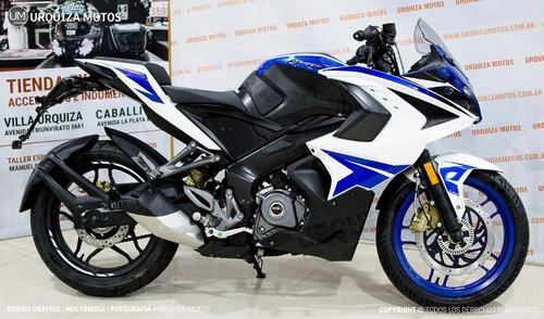 moto deportiva bajaj 200 motos