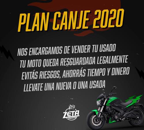 moto deportiva bajaj rouser ns 200 0km