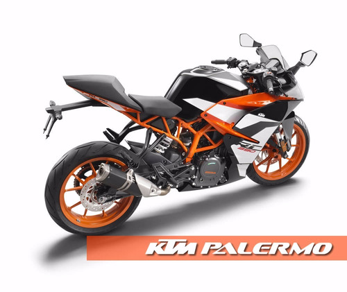 moto deportiva ktm rc 390 negra 0km 2017 - ktm palermo