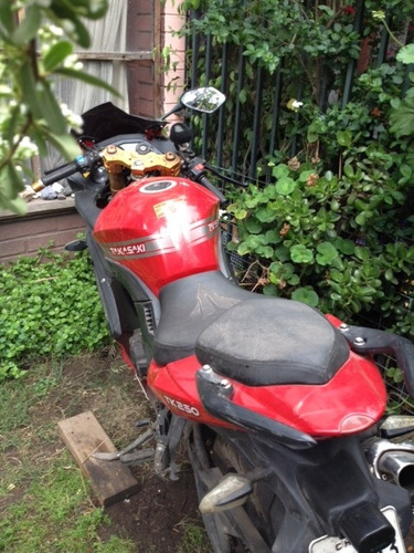 moto deportiva takasaki tk250