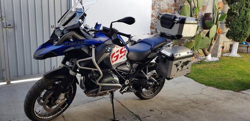 moto doble propósito bmw r1200gs adventure equipada