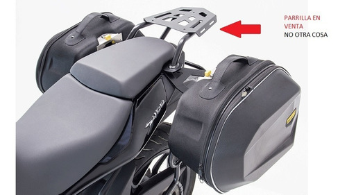 moto dominar 400 soporte para maleta (parrilla) fire parts