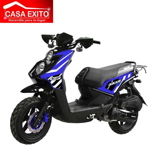 moto dukare dk150-b año 2019 scooter 150cc ne/ro/bl/az