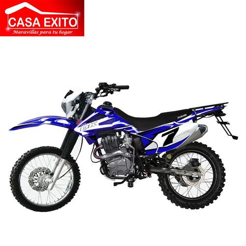 moto dukare dk200-d sport año 2019 200cc ro/ne/bl/az