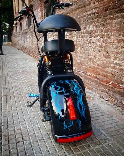 moto electrica 40km autonomia bateria litio 20ah extraible