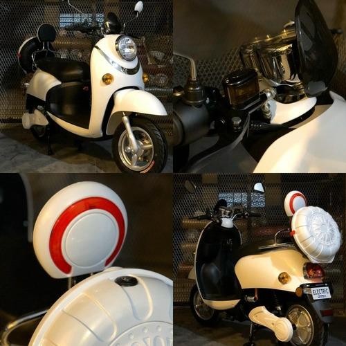 moto electrica 80km autonomia 45km/h bateria extraible