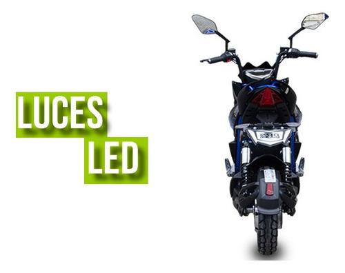 moto electrica aima bosch jeek azul crédito 0% interés