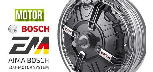 moto electrica aima bosch t3 litio negra envios nacionales