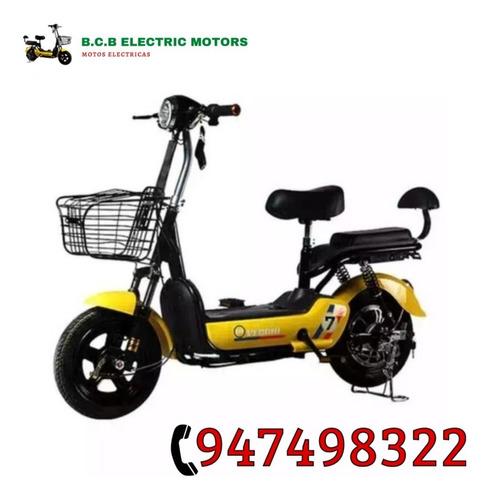 moto eléctrica bcb nueva + segunda batería gratis