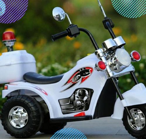 moto electrica chopera para niños