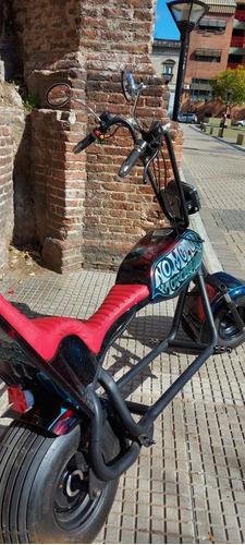 moto electrica chopper 2 baterias de 20ah litio
