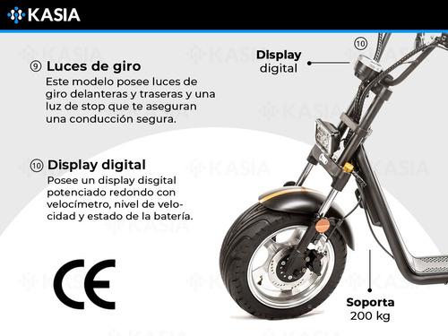 moto electrica city coco kasia termpus premium nueva