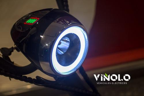 moto eléctrica city coco litio extraíble 70km viñolo /a