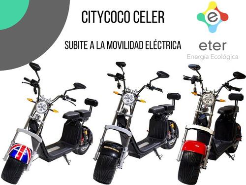 moto eléctrica citycoco celer pilar zona norte entrega hoy