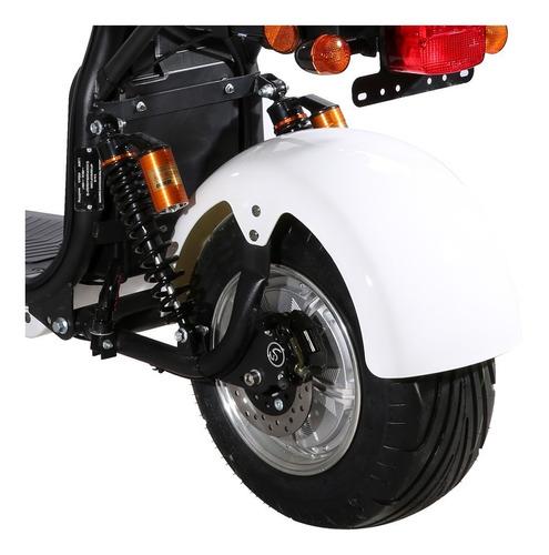 moto electrica citycoco harley motor 2000w 20ah aro aluminio