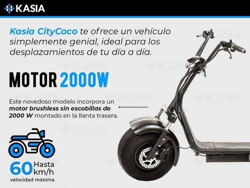 moto electrica citycoco kasia arezzo premium certificado eec
