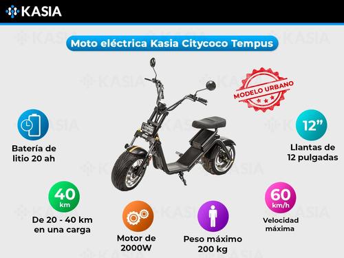 moto electrica citycoco kasia tempus clasica original