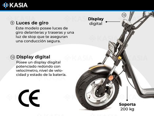 moto electrica citycoco kasia tempus motor 2000watts kasia
