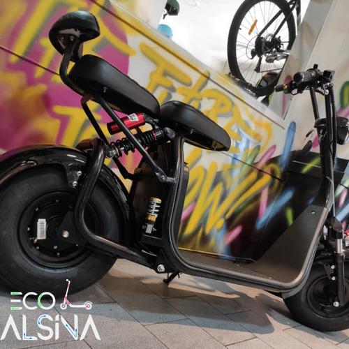 moto eléctrica citycoco/ litio 20 ah 60km con envío gratis