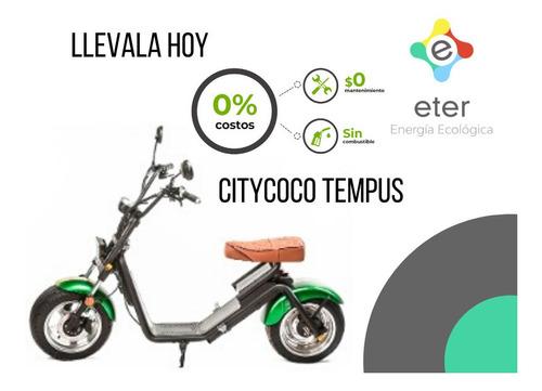 moto eléctrica citycoco tempus pilar zona norte entrega hoy