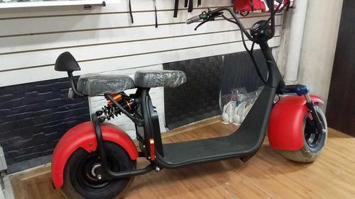 moto electrica con bateria recargable