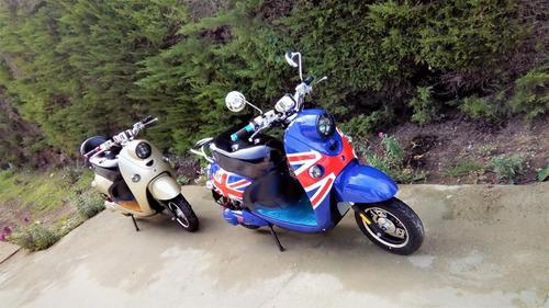 moto electrica de alta gama, moto (estilo vespa)