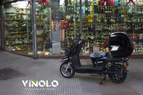 moto eléctrica de litio delivery sunra cagoo viñolo  /a
