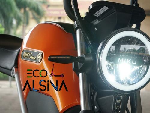 moto electrica de litio sunra miku max