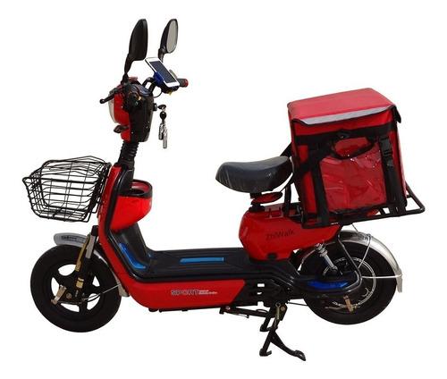 moto electrica delivery ecolo con alarma y encendido dimm