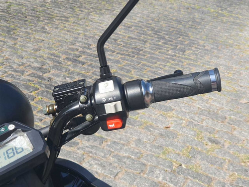 moto electrica elpra indie / eco alsina / negro