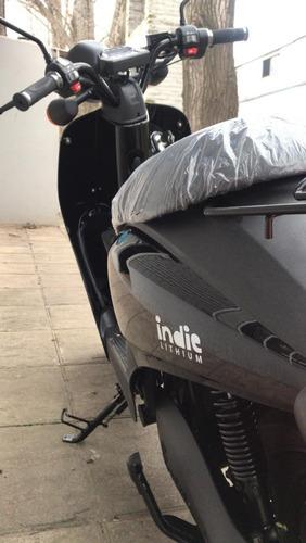 moto eléctrica elpra indie lithium / 30 ah / eco alsina