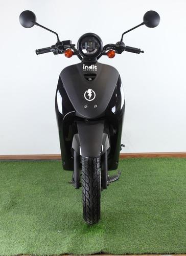 moto eléctrica elpra indie lithium / más autonomía 75 km