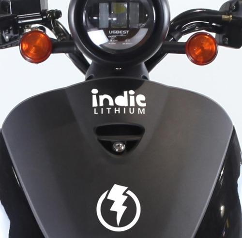 moto eléctrica elpra indie lithium / sin registro conducir