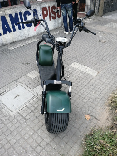 moto eléctrica  go green