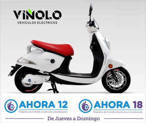 moto electrica grace de litio - viñolo /g