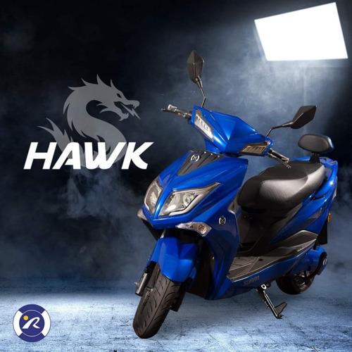 moto eléctrica hawk batería de litio extraíble - viñolo /g