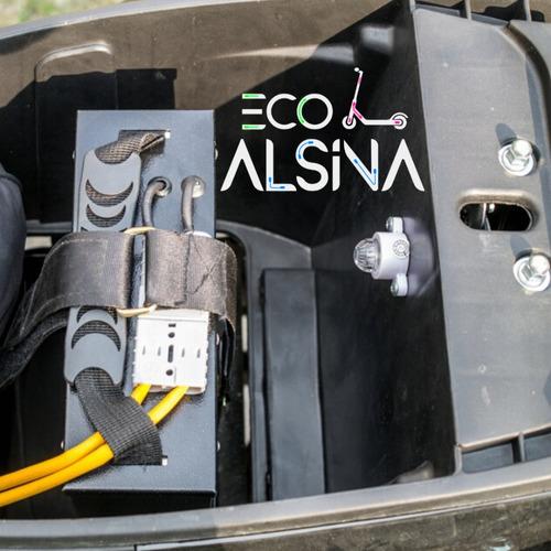 moto eléctrica hawk de litio / eco alsina hot sale