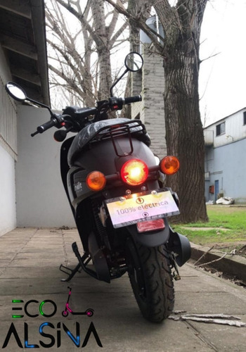 moto eléctrica indie 60 km/h bateria de litio / eco alsina