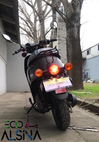 moto eléctrica indie 75 km autonomia / eco alsina