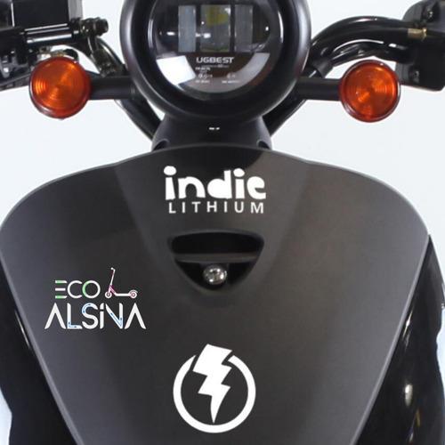 moto eléctrica indie no sunra grace / motor potente 2000w