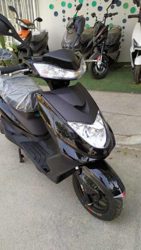 moto electrica inteligente aima bosh s3 negra envio gratis