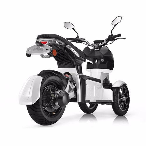 moto electrica itank doohan 0km tecnología tesla blanca