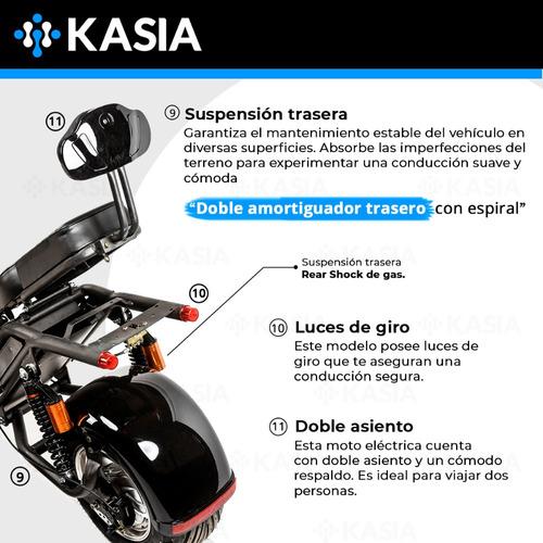 moto electrica kasia city coco fortimus original 2000w 20ah